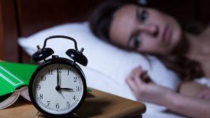 Insomnia fall asleep relax tense