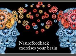 neurofeedback video screen brainwave activity