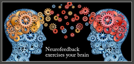 neurofeedback video screen brainwave activity