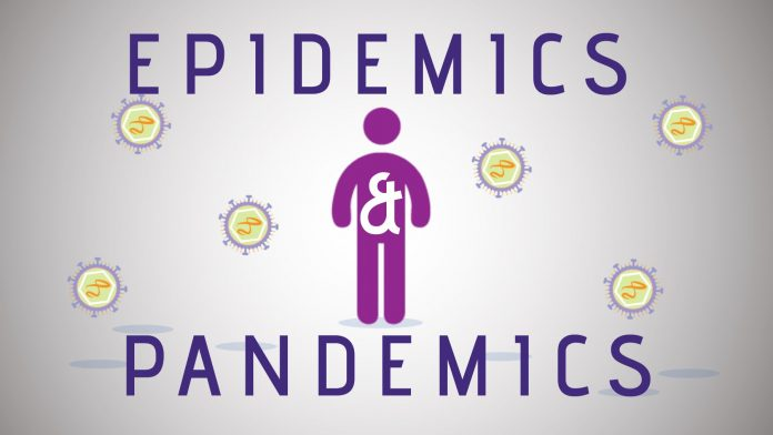 control the spread pandemic or epidemic epidemic what's the difference